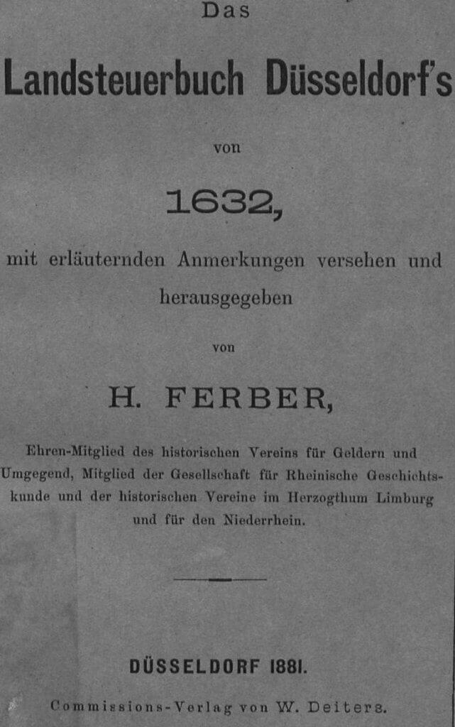 Ferber Landsteuerbuch