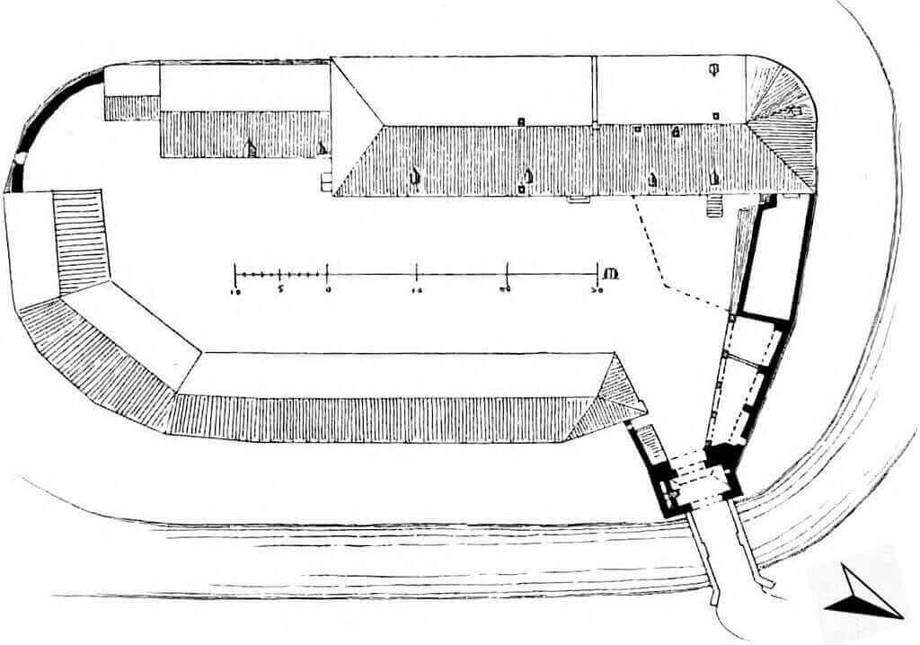 Grundriss Burg Angermund
